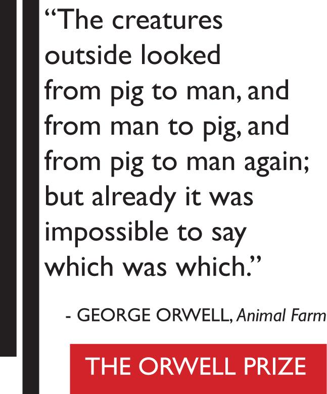 Animal Farm The Orwell Prize