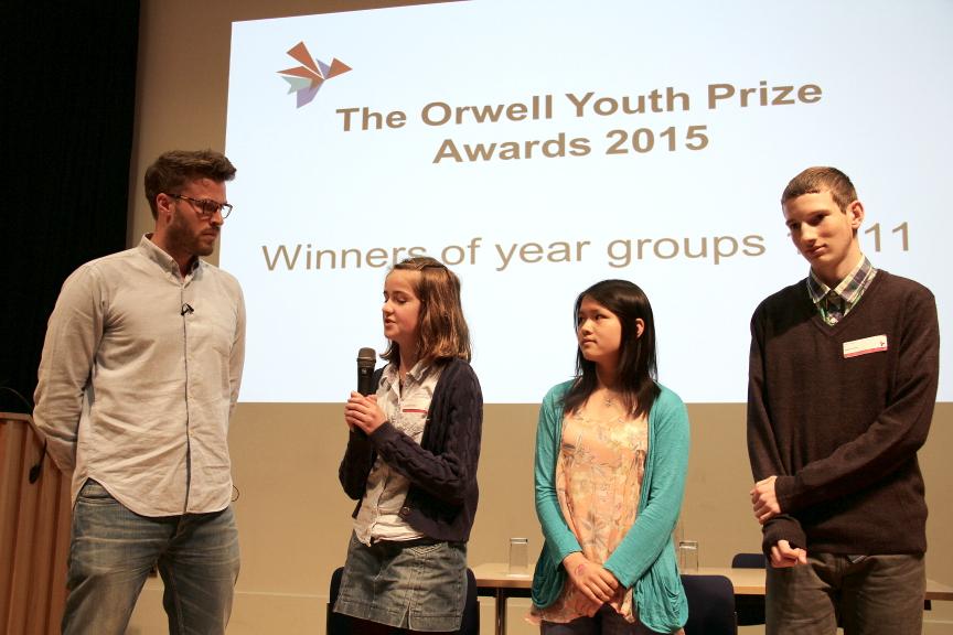 Rick Edwards interviews Lucy Thynne, Qianyun Liang, and Owen Dearman